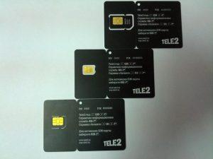 Меняем старую SIM-карту Теле2 на NanoSim